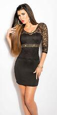 Bodycon lace sparkle dress glitter bling christmas clubbing dress black sparkle