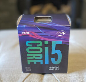 Intel Core i5-9400F - 2.9GHz Hexa-Core Processor