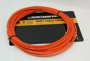 Genuine Jagwire Lex-SL Shifter Cable Housing, 1 Meter, Orange, 4mm, Brand New*