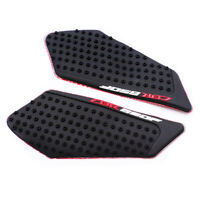 2X Side Gas Knee Grip Guard Tank Traction Pad Custom For Honda CBR650F 14-17 15