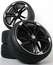 NEU für VW Tiguan I 5N 19 Zoll Alufelgen mit ABE Sommerkompletträder WH27 SP+