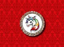 Lapel Pin Brooch Unicorn Rainbow Horn Horse