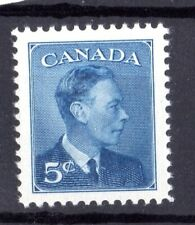 """1950 KING GEORGE VI - """"POSTES-POSTAGE"""" OMITTED, UC# 293, 5c,  IN MNH  COND"""
