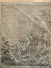 OLD MASTER DRAWING - Antique Artwork Signed (18th Century?)