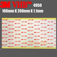 3M VHB #4950 Double-sided Acrylic Foam Adhesive Tape Automotive 100mm X 200mm