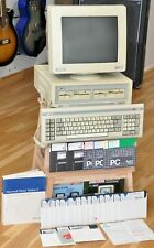 Amstrad 8086 PC1512DD 8 MHz Computer & PC-MM Monitor - PC1512 Bundle - Working!