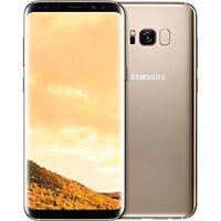 "Samsung Galaxy S8+ Plus Dual Sim G955FD 4G 64GB 6.2"" Factory Unlocked Maple Gold"