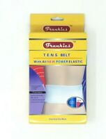 New Frankies With All New Power Elastic T.E.N.S Belt Pain Relieve Therapy