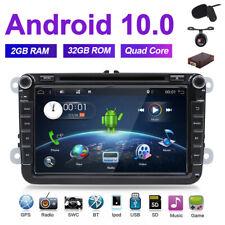 32GAndroid10.0 Car DVD Radio GPS Sat Nav Stereo For VW Golf MK5 MK6 Jetta Passat
