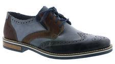 Men's Formal Lace Up Shoes Rieker 13520 - 16 Blue Combi EU Size 43 (UK Size 9)