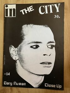 In The City #14  Gary Numan 1980