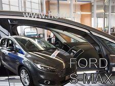 Ford S-Max II 5 portes 2016-prés Deflecteurs d'air Déflecteurs de vent 2pcs