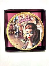 Enesco Mattel 1993 Barbie With Love 1959 #655104 Evening Splendor Mini Plate EUC