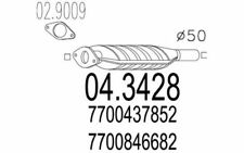 MTS Catalizador RENAULT MEGANE SC?NIC 04.3428