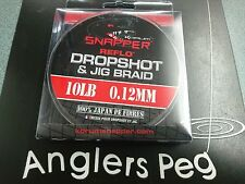 Korum Snapper Drop Shot and Jig Braid