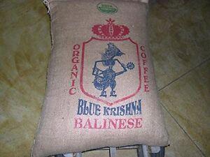 2 lbs Bali Blue Moon Organic RFA Fresh Delicious Medium/Dark Roast Coffee Beans