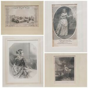 ANTIQUE ENGRAVING ART from The 1840's - Shakespeare Prints Used Condition