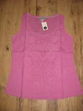 NEW PINK BODEN COTTON SUMMER TOP SIZE 8
