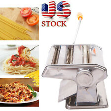 Stainless Steel Manual Noodle&Pasta Maker Dough Cutter Press Kitchen Tool Machin