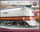 Original 2006 Lionel Model Trains/Accessories Catalog Vol. 1 w/Prices 184 pages