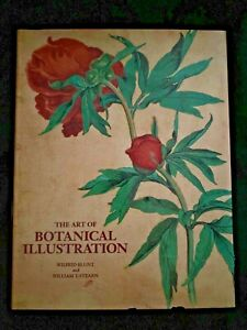 The Art of Botanical Illustration by Blunt & Stearn, 1994, HCDJ, Illustrated