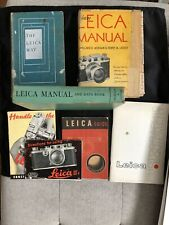 Lot Of Seven Leica Camera Books And Manuals