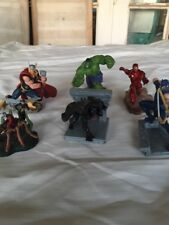 Marvel Avengers 2011 Disney Store Figurine Set 6 Figures