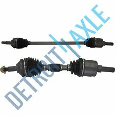 Complete Front Driver And Passenger Side CV Axle Shaft W/ABS  SEDAN