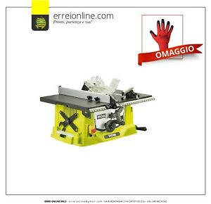 BANCO SEGA RYOBI RTS1800-G 1800W CIRCOLARE A LAMA LEGNO ELETTRICA PROFESSIONALE