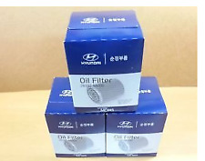KIA K2700 2007-ONWARDS GENUINE BRAND NEW OIL FILTER X 3EA