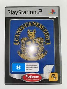 Canis Canem Edit (Bully) - PlayStation 2 (PS2) - Including Manual And Map