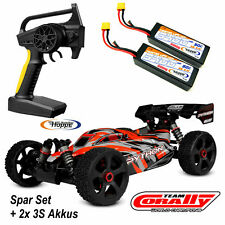 Team Corally C-00181 Python XP 6S 1-8 Buggy  RTR Brushless  + 2 Stück  3S Lipos