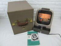 Kodak Kodaslide Table Slide Viewer Model A Series 2 Lamp & Manual Vintage