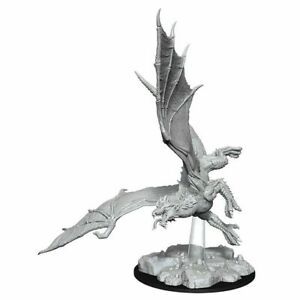 D&D Unpainted Minis Wv8 Young Green Dragon NEW miniatures DND Dungeons & dragons