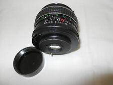 Carenar Wide Angle Lens M42 Screw Mount 1:2.8 f=35mm w/ Hood Tiffen Filter C13