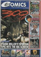 Comics International #201 Frank Miller's 300 (2007) UK Magazine