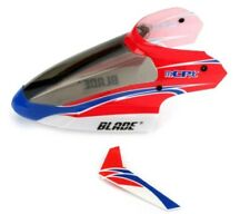 Blade BLH3518 Complete Red Canopy w/Vertical Fin mCP X mCPx
