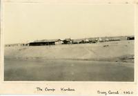 Egypt, Suez Canal, Camp Kantara  Vintage silver print.  Tirage argentique d&#0