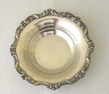 Poole Silverplate   WINE COASTER / SMALL DISH  -  FGC  Old English 5004   6.5in