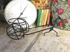 vintage Retro Atomic Wire  rickshaw plant Pot holder