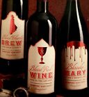 "Martha Stewart Holidays 2 packs ""HALLOWEEN"" Beverage Labels 6ct per pack-NEW"