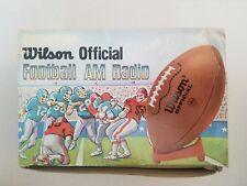 Vintage Official Wilson Football AM Radio Doritos Promo (NEW)