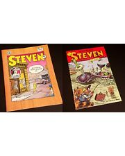 STEVEN #4 & STEVEN AT SEA (1990) by Doug Allen
