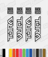 Stickers Pack Fluorescent Colours RockShox Tora 2008 Decals Custom