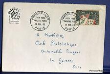 FRANCE Yt1403  Enveloppe 1er jour 14/12/1963 1964  philatec  fa29