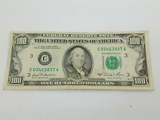 1981 One Hundred $100 Dollar Bill Federal Reserve Note Series **Philadelphia**
