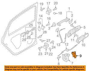 VW VOLKSWAGEN OEM 11-18 Jetta Front Door-Lock Cover Right 5K0837350B