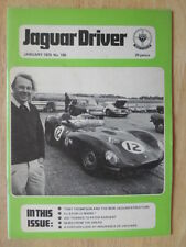 JAGUAR DRIVER Magazine January 1976 Edition 186 UK Mkt - Sales Brochure