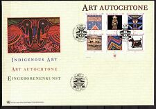 UN / Geneva office - 2003 Indigenous art - Mi. Bl. 18 clean FDC