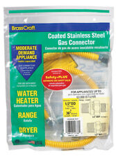 Brasscraft  ProCoat  1/2 in. 1/2 in. Dia. x 36 in. L Stainless Steel  Connector